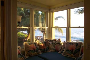 Oceanfront Window Seats