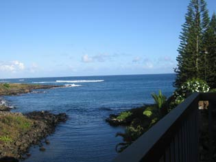Waterfront Cottage rental in Kauai Hawaii